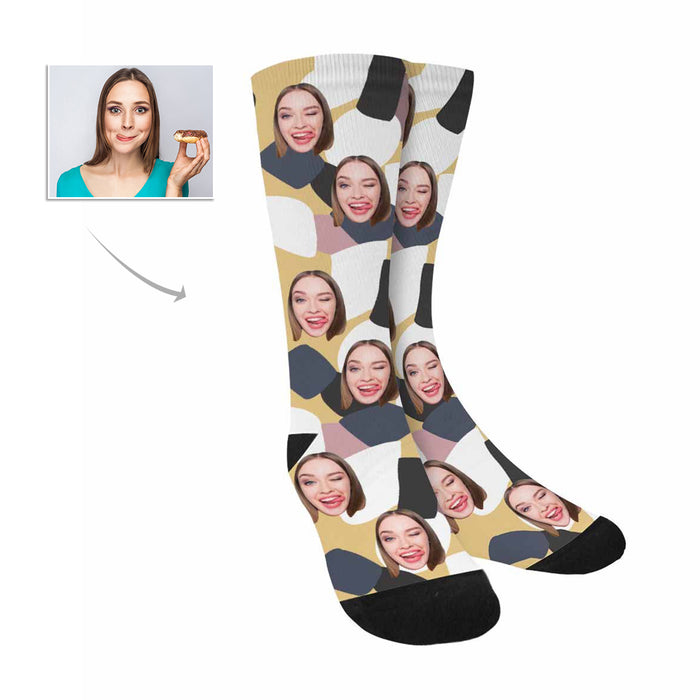 Custom Women's Face Socks|Personalized Photo Gifts