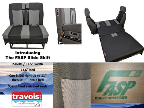 FASP Slide Shift Dinette Bed - Travois USA
