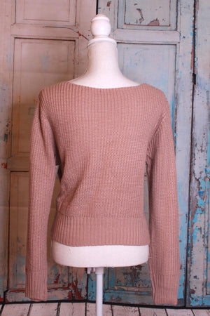 'Pearls of Wisdom' Knot Sweater