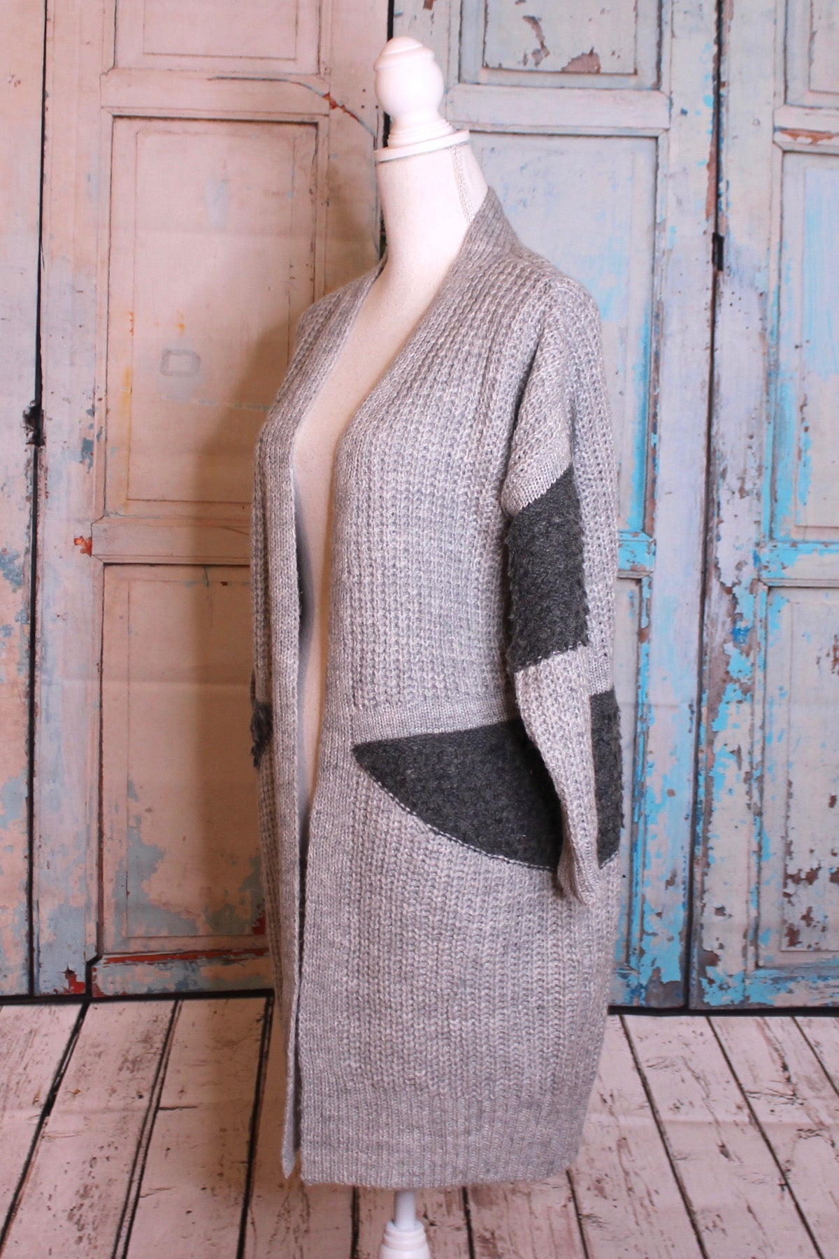'It's a Long Story' Color Block Sweater
