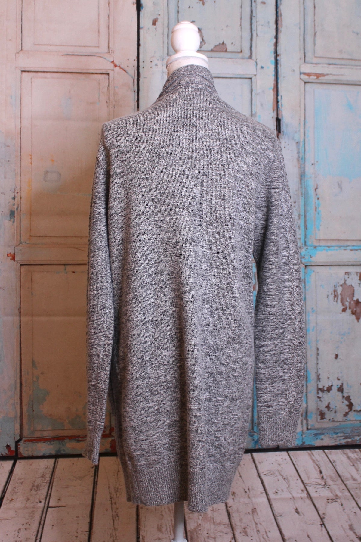 'At Long Last' Sweater in Grey