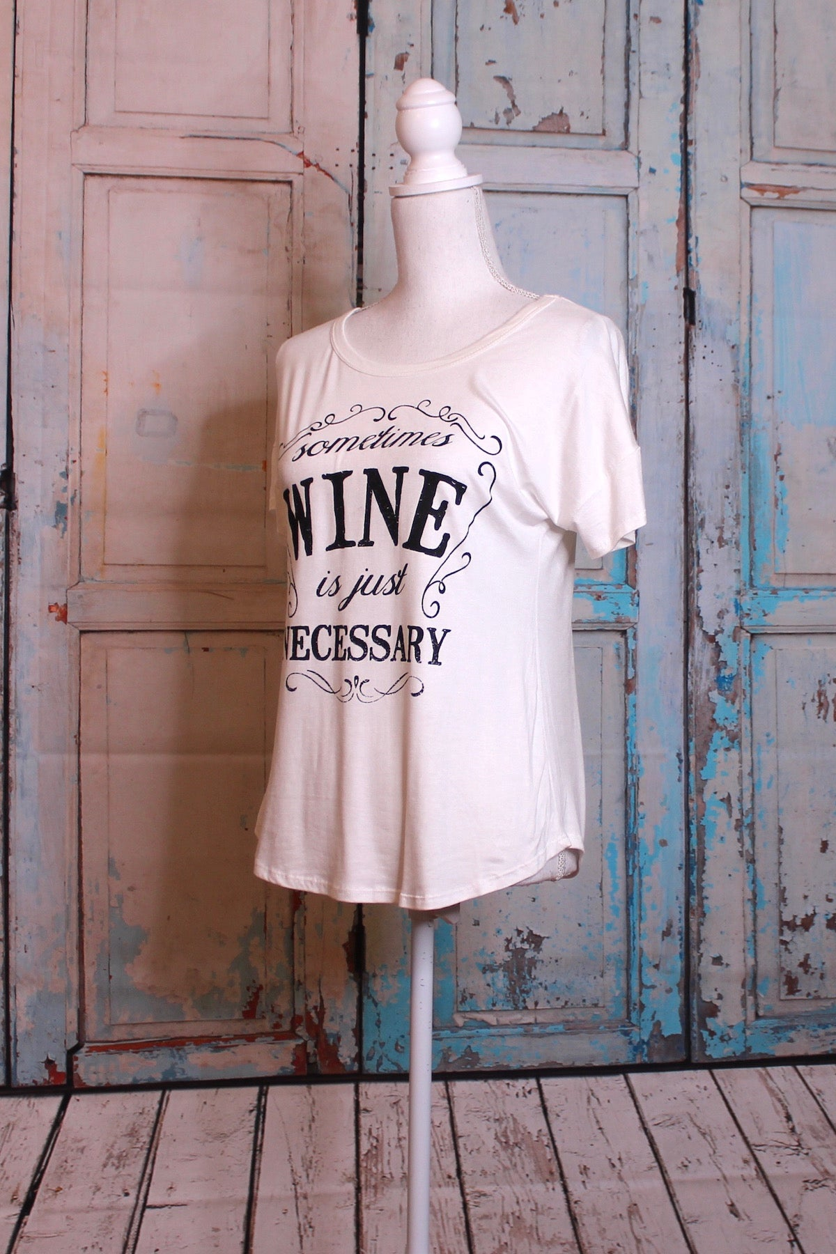 'Wine is a Necessity' Tee