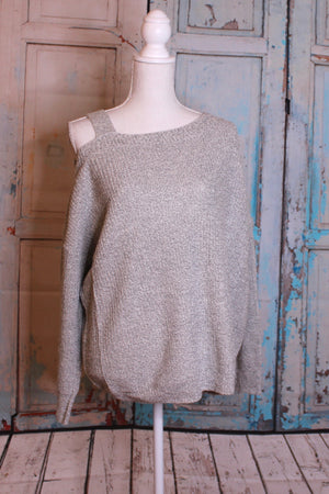 'The Cold Shoulder' Grey Shrug