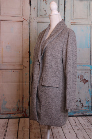 'Spring to Action' Jacket in Warmly Gray