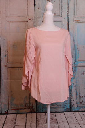 Tiered Blush Blouse