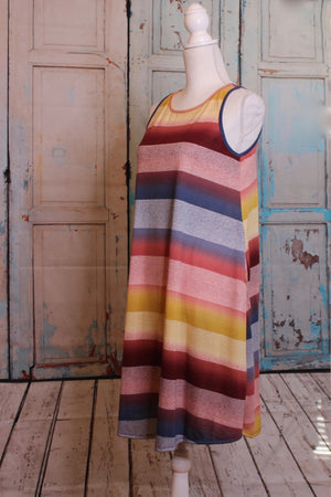 'Chasing Rainbows' Stripe Dress