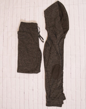 Let's 'Work It Out' Sweatpants in Hunter Green