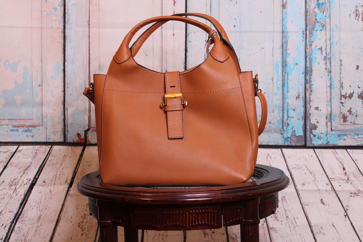 Tanned Bronze Duffle Bag