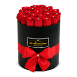 Swarovski Black Box & Red Forever Roses