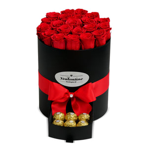Grande Black Box & Eternity Roses