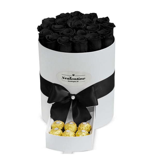 Grande White Box & Eternity Roses