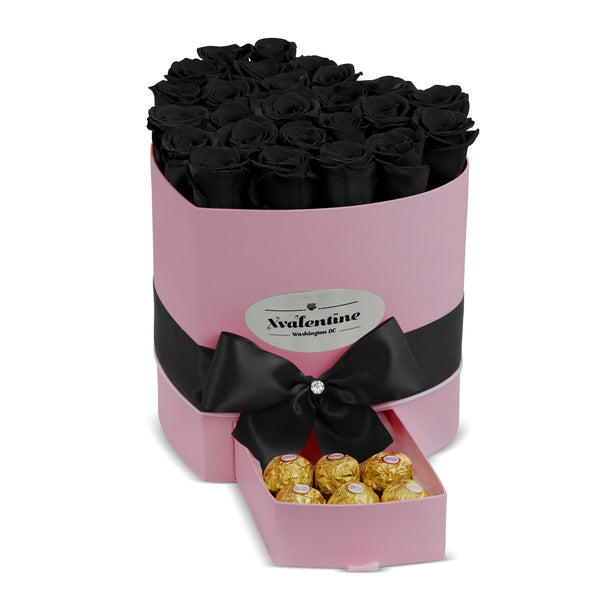 Love Pink Box & Eternity Roses