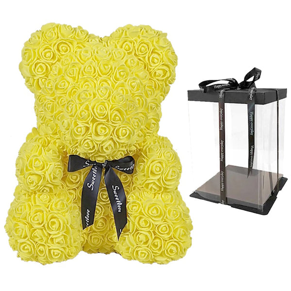 The Original Large Rose Bear with Gift Box