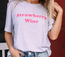 Load image into Gallery viewer, Strawberry Wine Tee