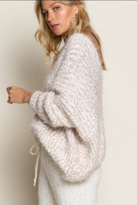 POL Mauve All Day Sweater