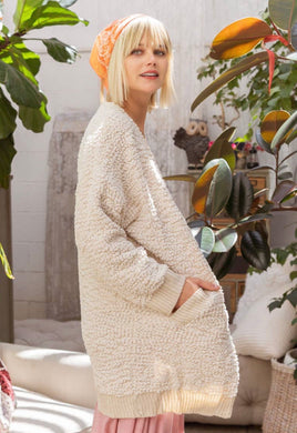 Cream Blanket Cardigan!