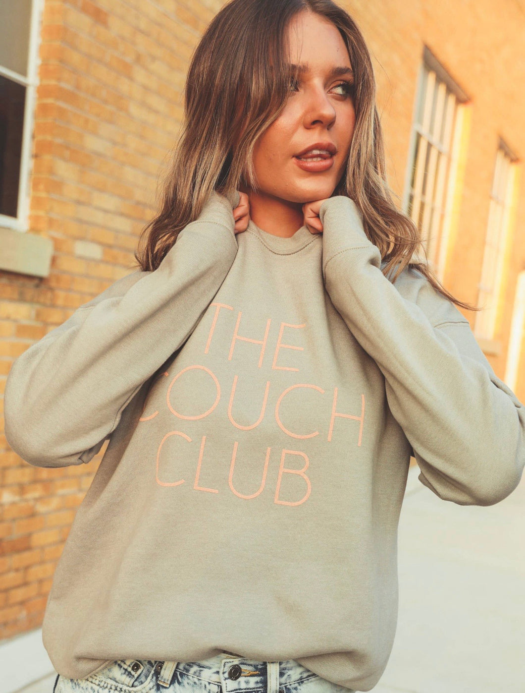 IN ROUTE / Couch Club Sweatshirt!!