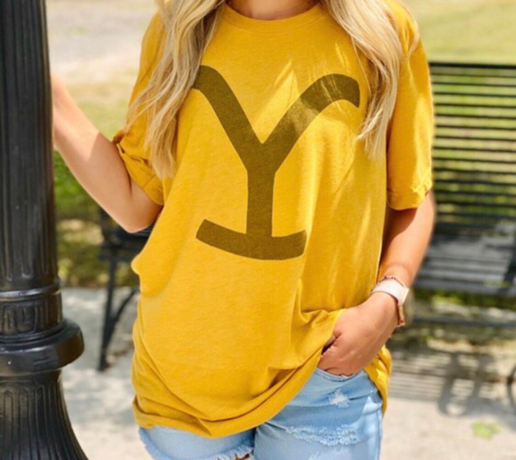 Yellowstone Graphic Tee!