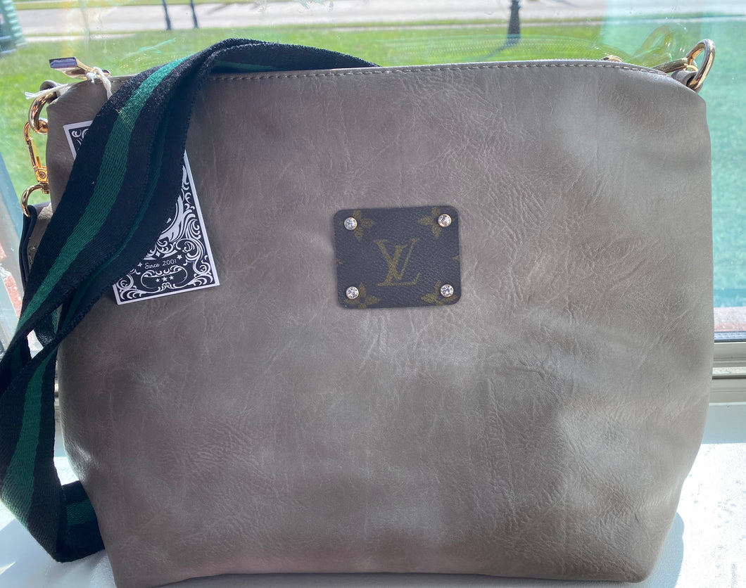 Authentic LV patch crossbody!