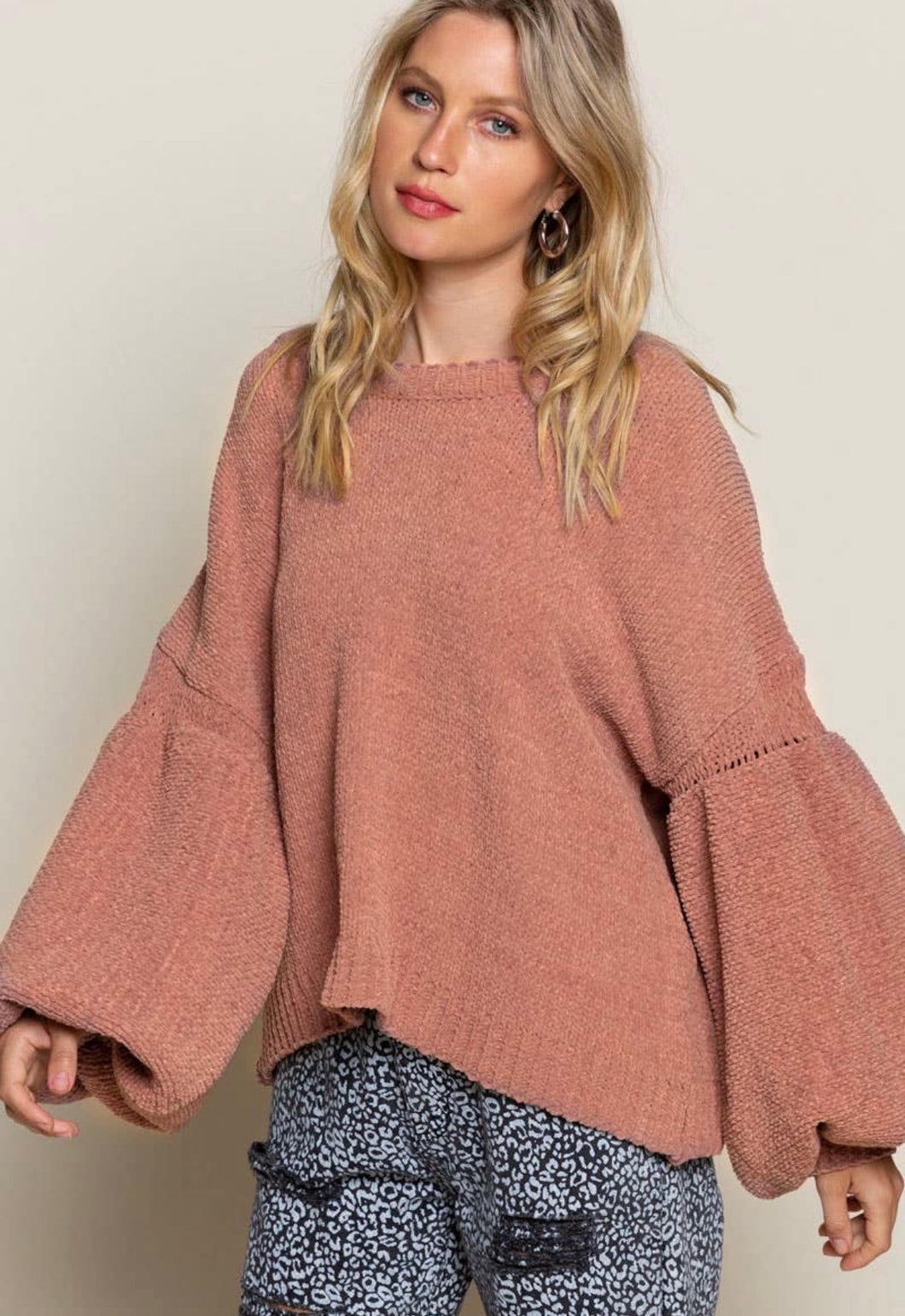 POL Fall Vibe Sweater