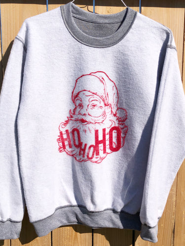 Inside out Ho-Ho Sweatshirt!
