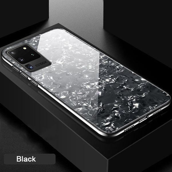 Ultra Thin Tempered Glass Case for Samsung Galaxy S20/20Plus/20Ultra