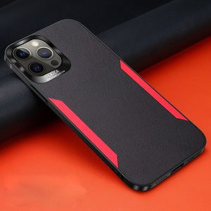 Luxury Ultra Thin PU Leather Cover For iPhone 12