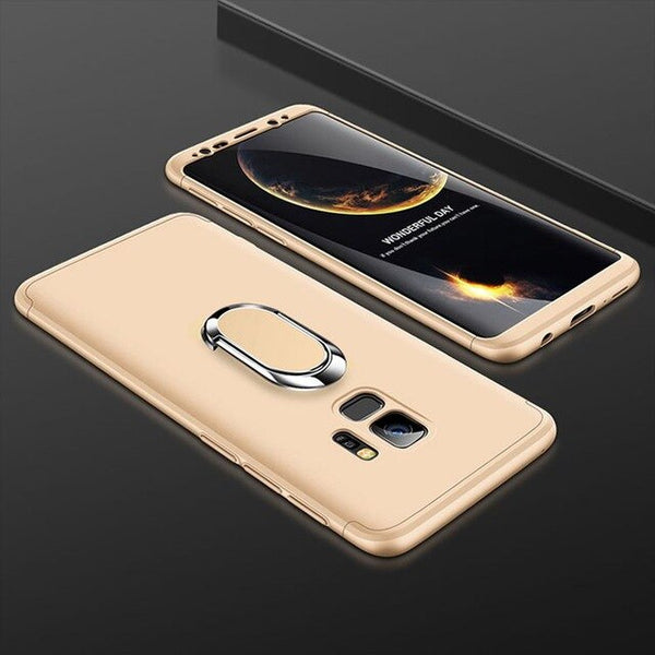Ultra Thin 3 in 1 Hard with Stand Ring Cover For Samsung Galaxy S20/20Plus/20 Ultra(Buy 2 Get 10% OFF,Buy3 Get 15% OFF)