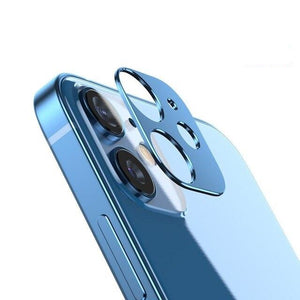 Luxury Metal Camera Lens Screen Protector for iPhone 12