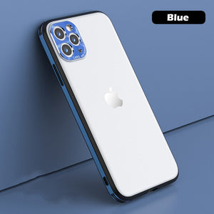 Shockproof Full Camera Protector Matte Cover for iPhone 12