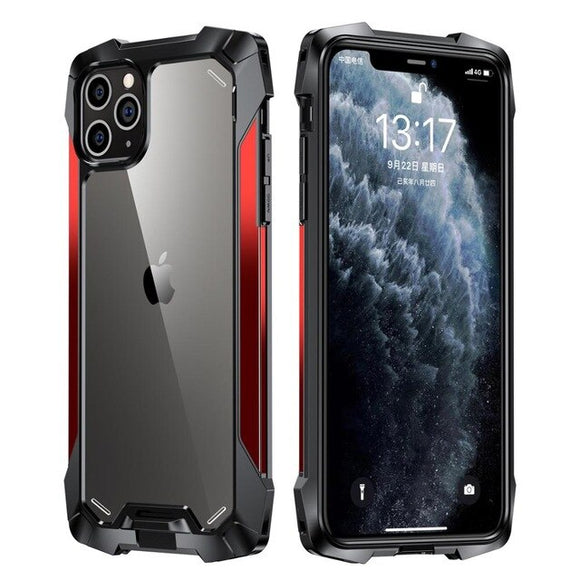 Anti Skip Military Grade Protection Clear Case For iPhone