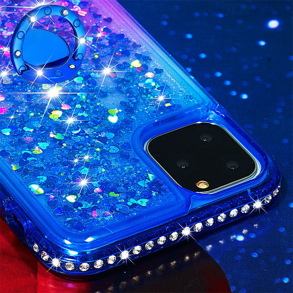 Bling Diamond Rhinestone Case with Kickstand Ring for iPhone