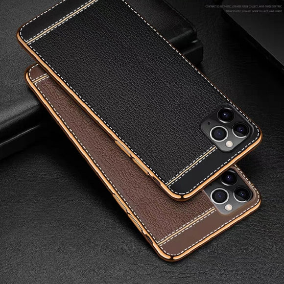 Ultra Slim Plating Soft Texture Case for iPhone