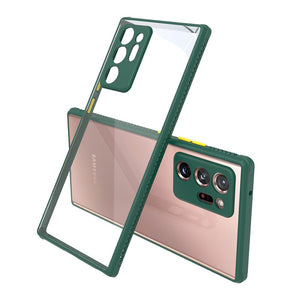 Transparent Hard PC Matte Case for Samsung Galaxy Note