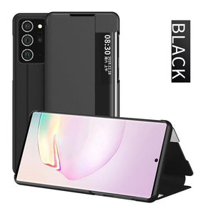 Fashion Side window Smart View Flip Cover for Samsung Galaxy Note
