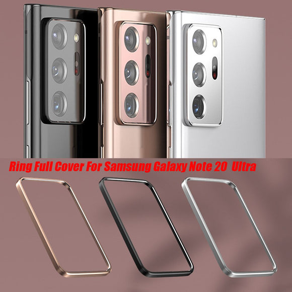 Full Cover Metal Rear Aluminun Alloy Lens Protector For Samsung Galaxy Note
