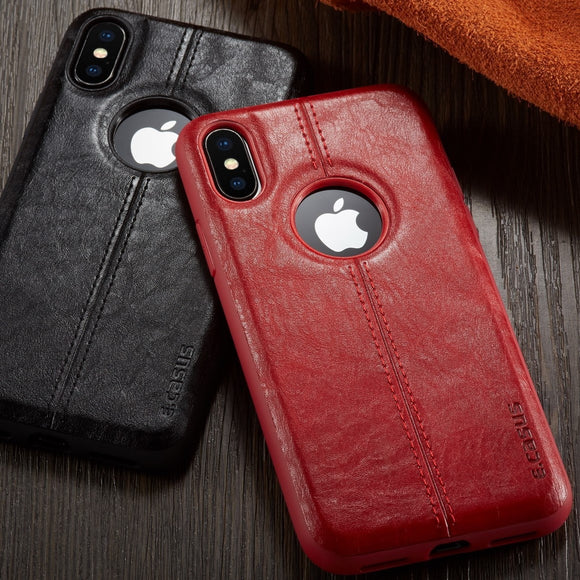 Ultra Thin PU Leather SLIM Cover For iPhone