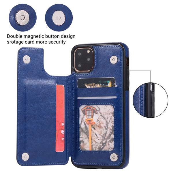 Retro PU Leather Flip Wallet Holder Cover For iPhone(Buy 2 Get 10% OFF,Buy3 Get 15% OFF)