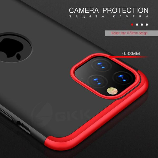 ZAZABEST Original Full Protection With Logo Hole Matte Cover for iPhone