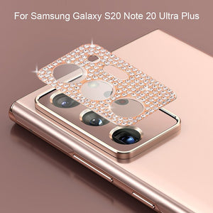 Bling Diamond Metal Camera Lens Protection for Samsung Galaxy Note Series(Buy 2 Get 10% OFF, Buy3 Get 15% OFF)