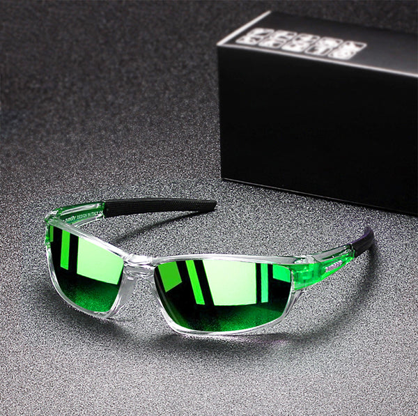 Men's Polarized Driving Mirror Sport Sunglasses