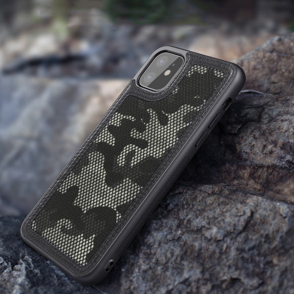 Military Camouflage Anti-Knock Mesh Case For iPhone