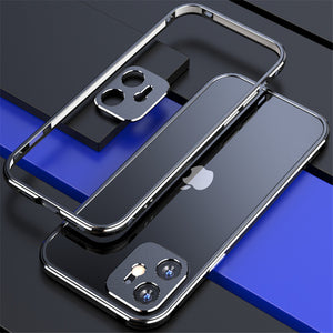 Aluminium Frame Metal Bumper for iPhone with Camera Lens