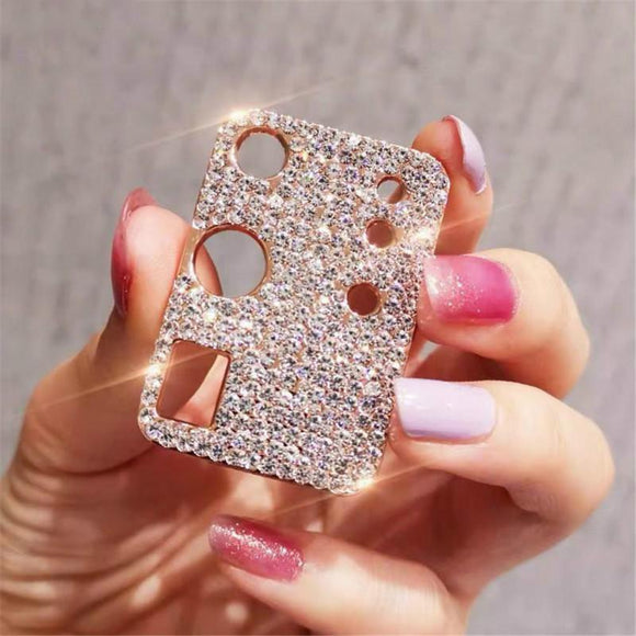 Bling Diamond Metal Camera Lens Protection for Samsung Galaxy S21/20(Buy 2 Get 10% OFF, Buy3 Get 15% OFF)