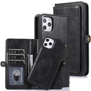 Detachable Magnetic Leather Phone Cover for iPhone 12