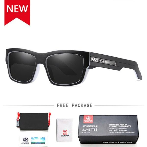 Men's Driving & Travel Square Polarized Sunglasses