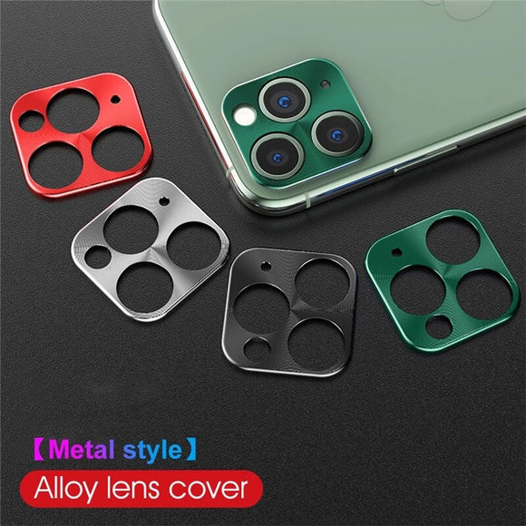 Metal Protective Camera Lens Protector For iPhone