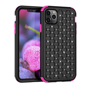 Shockproof PC+TPU Diamond case For iPhone 12
