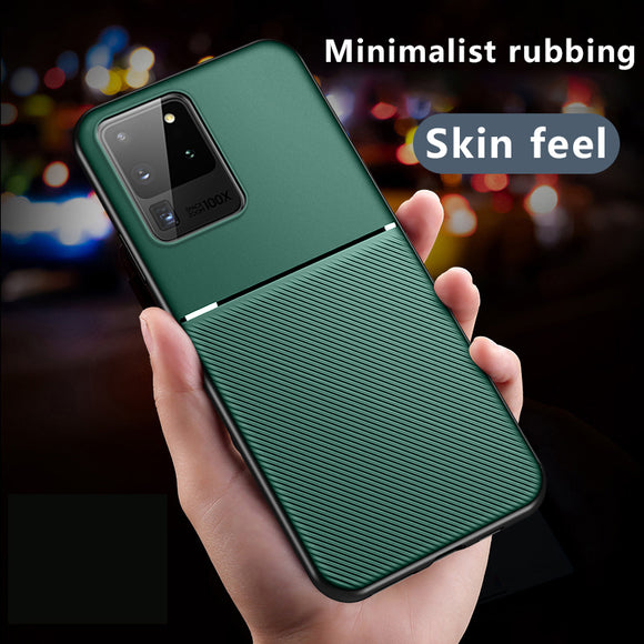 Anti-Shock Magnet Silicone TPU Case For Samsung Galaxy S20