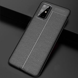 ZAZABEST Luxury Litchi Leather Soft Case For Samsung Galaxy S11/10/9/8